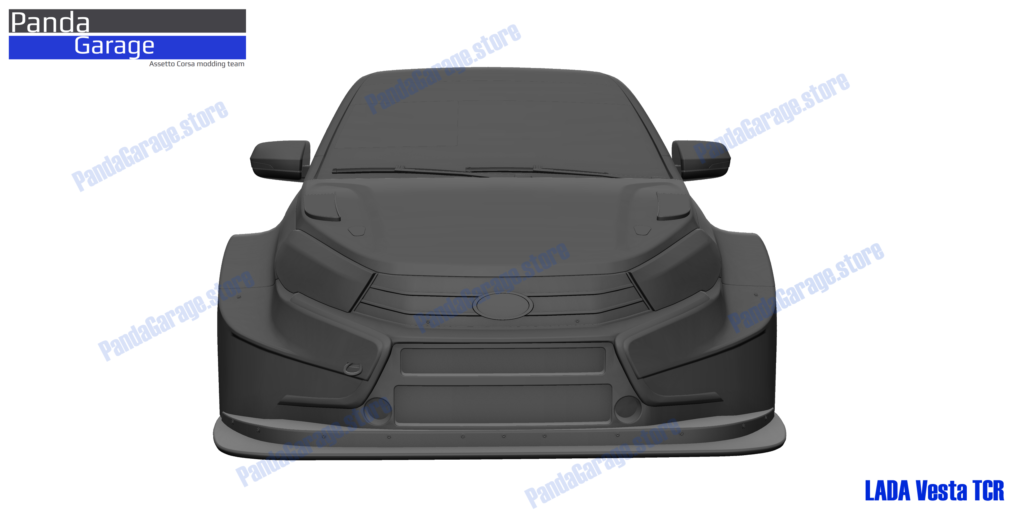 17/06/2019 -  First render LADA Vesta TCR