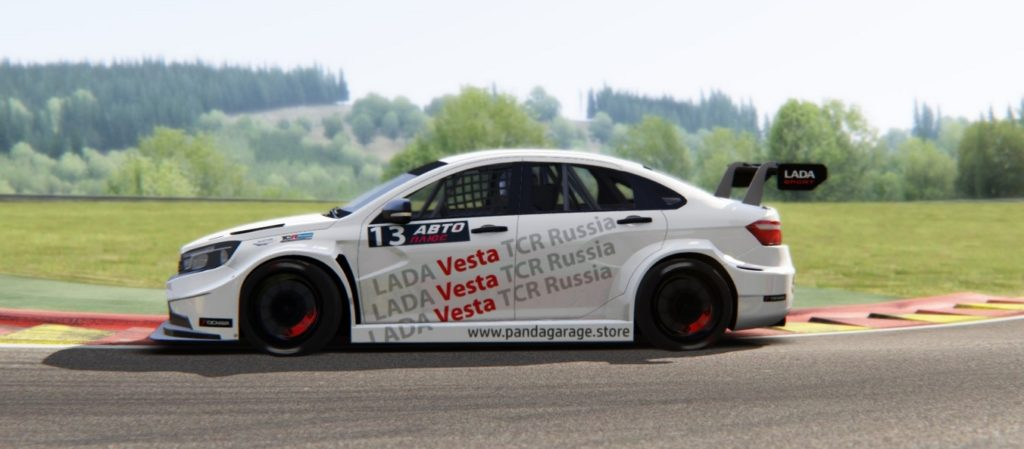 13/10/2019 - LADA Lada Vesta TCR v.1.1 released!
